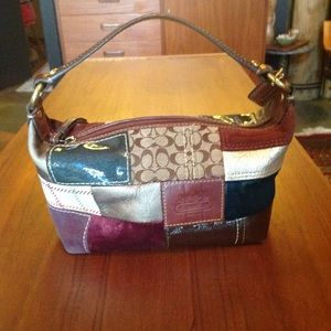 Coach patchwork authentic small purse
